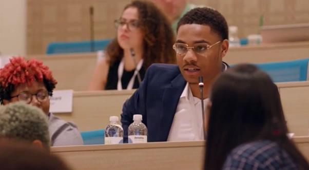 Samuel Austin Evans, L.E.A.D. Ambassador alumnus at PossePlus Summit 2019